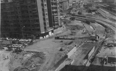 La Retina: construcción del túnel de Duques de Nájera