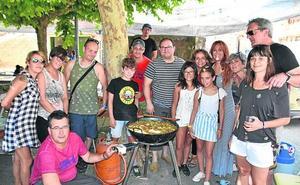 Tobogán de agua y ranchos en el programa festivo de Alcanadre