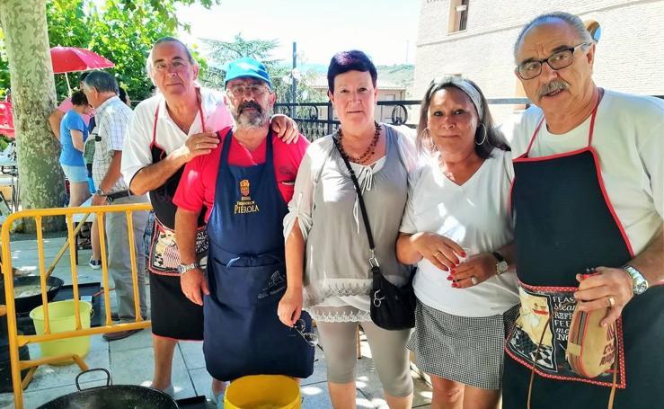 Concurso de calderetas de las fiestas de la Virgen y San Roque en Navarrete
