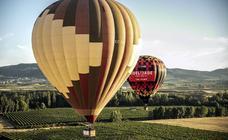 Regata de globos aerostáticos en Haro y su comarca
