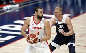 EE UU fue mejor que España y muestra su condición de campeón