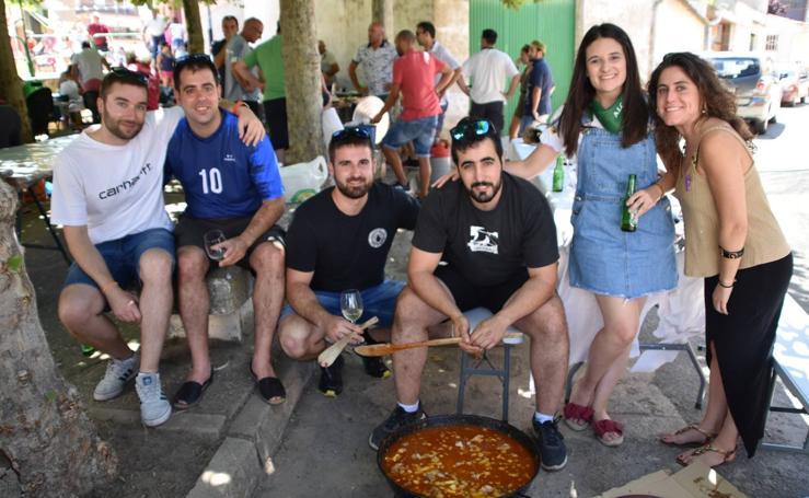 Concurso de ranchos y tobogán de agua en las fiestas de Alcanadre