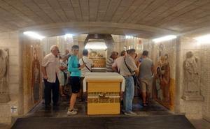 Rupnik culmina la cripta del Santo