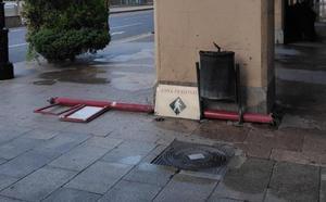 La Guindilla: «Mala imagen» por la señal en el suelo