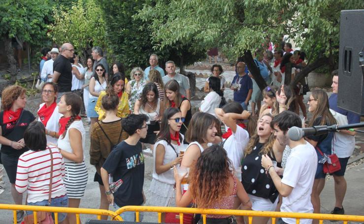 Alfaro continúa con sus fiestas en honor a San Roque y San Ezequiel