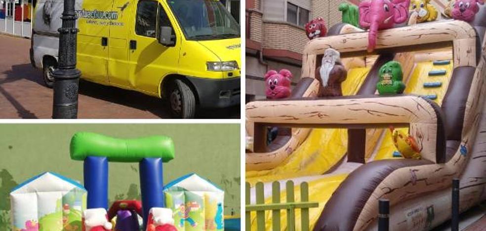 Se busca una furgoneta robada a Espirituactivo.com con dos hinchables en su interior