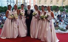 Proclamación de la reina y las damas de las fiestas de Calahorra 2019