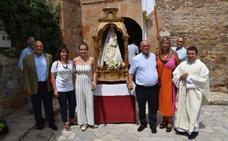 Navajún celebró ayer la fiesta de la Virgen de Atisca