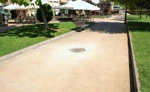 La brigada de Obras de Nájera mejora las zonas para peatones