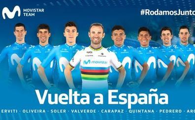 Quintana, Valverde y Carapaz, tridente de Movistar para la Vuelta