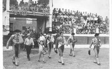 La Retina: plaza de toros de Aldeanueva en el año 1970