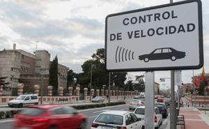 Logroño registra en seis días 193 infracciones por exceso de velocidad