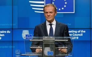Tusk burla el primer paso de Johnson hacia el acuerdo del 'brexit'