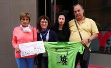 Cinco mil euros para la lucha contra el cáncer