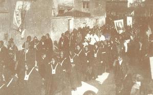 La Retina: procesión del Carmen en Calahorra