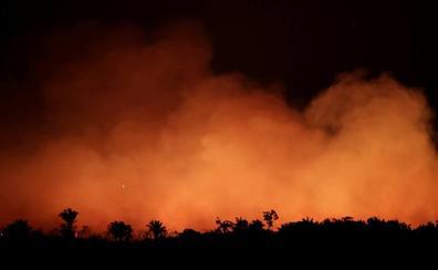 El fuego desvía el debate sobre la protección de la Amazonía