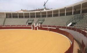 La plaza de toros de Calahorra, lista para las fiestas