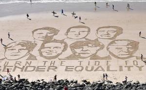 Biarritz acoge a un G7 fracturado