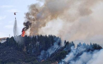 El Gobierno alerta de que las altas temperaturas podrían provocar más incendios forestales