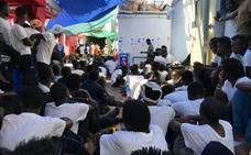 Malta acuerda recibir a los 356 migrantes del Ocean Viking