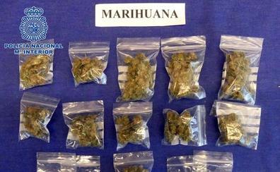 Cuatro detenidos por tráfico de drogas en varias operaciones en Logroño