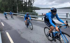 Sheyla Gutiérrez, sin suerte en el sprint, mantiene sus opciones en Noruega