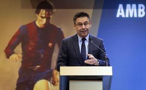 El Barcelona colocará este lunes una estatuta de Cruyff en el Camp Nou