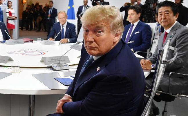 Trump afirma que el G7 no le ha pedido frenar la guerra comercial con China