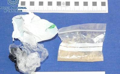 Detenidas dos personas en sendas operaciones antidroga en Logroño