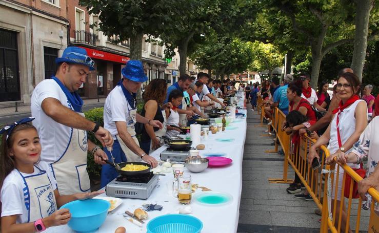 Los 'cocinillas' de las fiestas en Calahorra