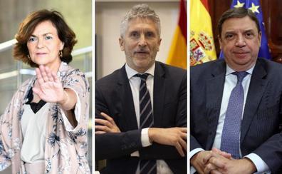 En el aire la presencia de ministros en la toma de posesión