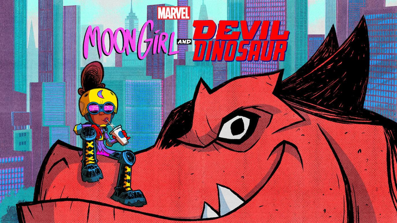 Moon Girl y su dinosaurio diabólico tendrán serie de televisión