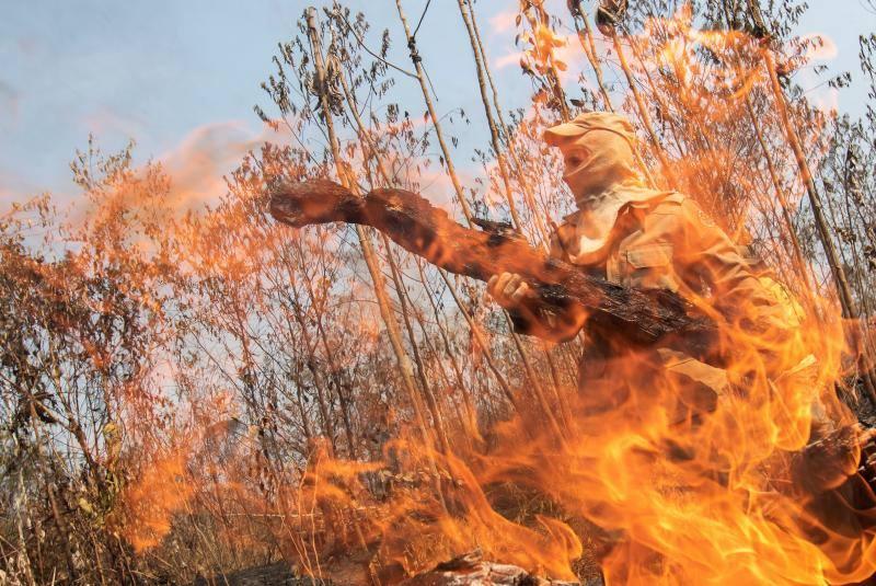 Brasil prohíbe por 60 días el uso de fuego para preparar siembra en la Amazonía