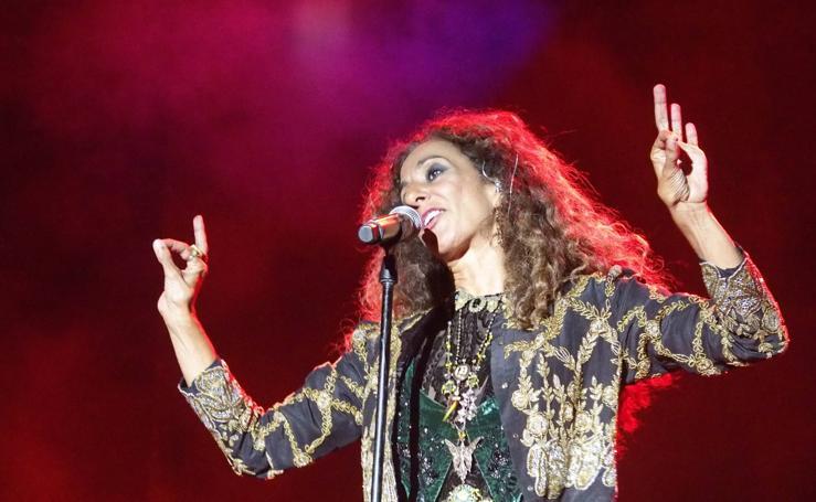 El concierto de Rosario en Calahorra, en imágenes