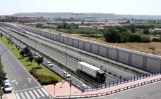 Herido un joven de 23 años en un accidente de tráfico en la A-13 en Logroño