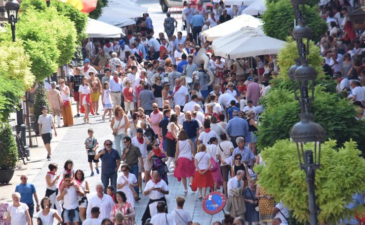 Intenso sábado festivo en Calahorra