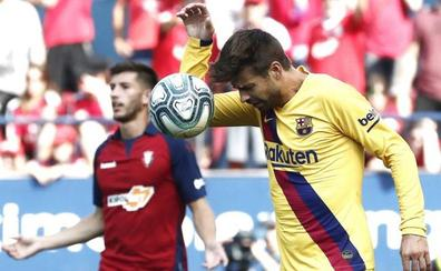 Piqué mete la mano en la remontada del Barcelona