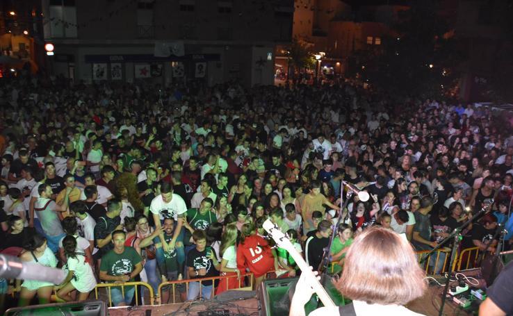 VI fiesta del rock de Pradejón