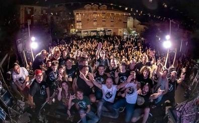 Éxito de la VI fiesta del rock de Pradejón
