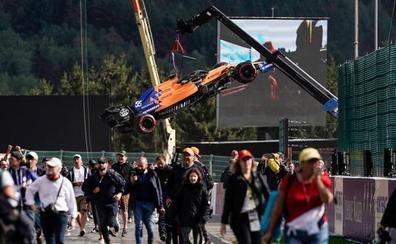 Frenazo de McLaren a Sainz y Norris