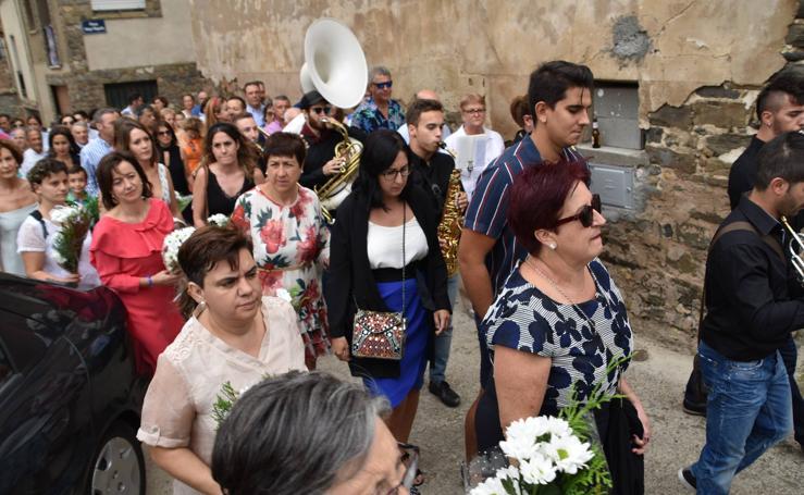 Procesión de la Virgen del Villar en Igea
