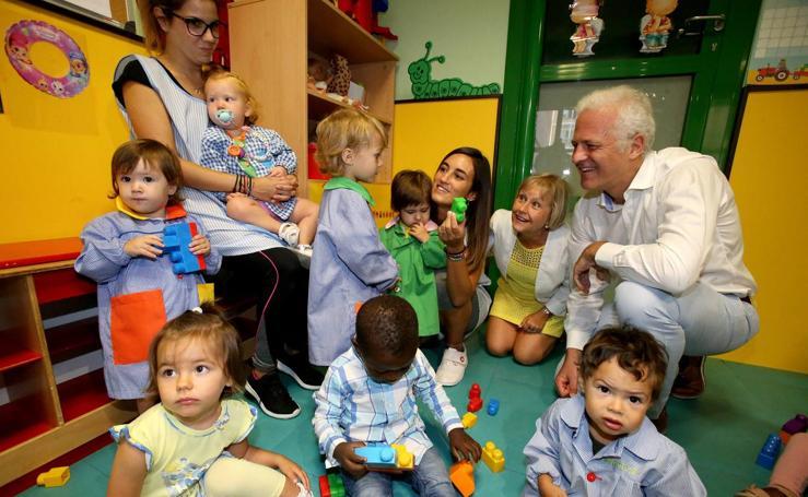 Inauguración del curso escolar de las escuelas infantiles municipales