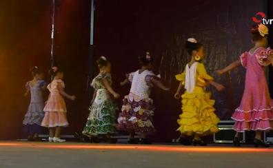Cenicero baila al son de flamenco