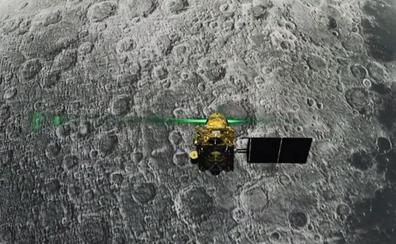 La agencia espacial india pierde el contacto con la sonda con destino en la Luna
