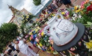 Emoción para honrar a la Virgen de la Vega