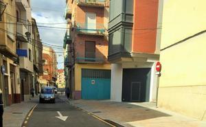 Reabierta la calle González Gallarza de Lardero tras la mejora de la seguridad vial