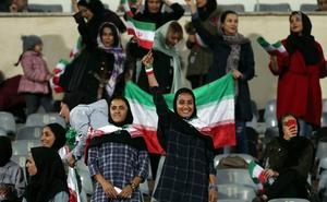 La mártir azul del fútbol iraní