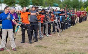 Prado Salobre acogió el IX Trofeo Vendimia de tiro con arco