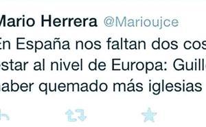 Andreu exige a Mario Herrera «pedir perdón todas las veces que sea necesario» por sus tuits