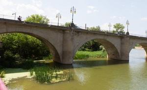 Muere un hombre de 72 años ahogado en el Ebro en Logroño